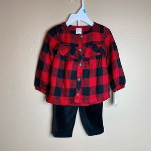 Carter's 3-6 month Flannel and Corduroy Pants